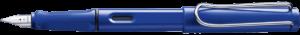 Blue Lamy Safari fountain pen